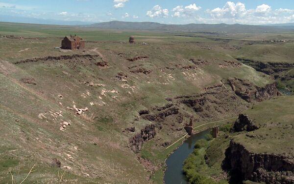 Անին Ախուրյանի կիրճի մոտ - Sputnik Արմենիա