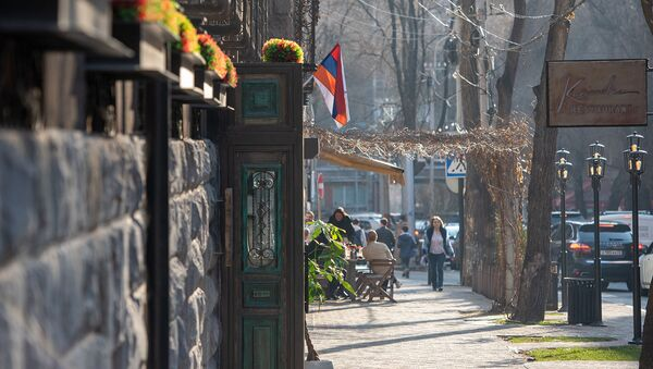 Кафе на улице Езника Кохбаци - Sputnik Արմենիա