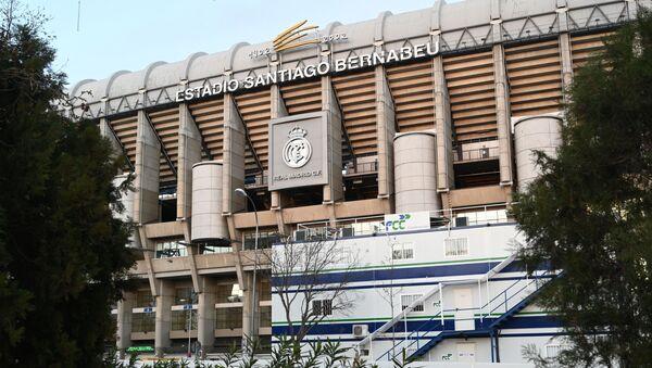 Стадион Сантьяго Бернабеу в Мадриде. - Sputnik Армения