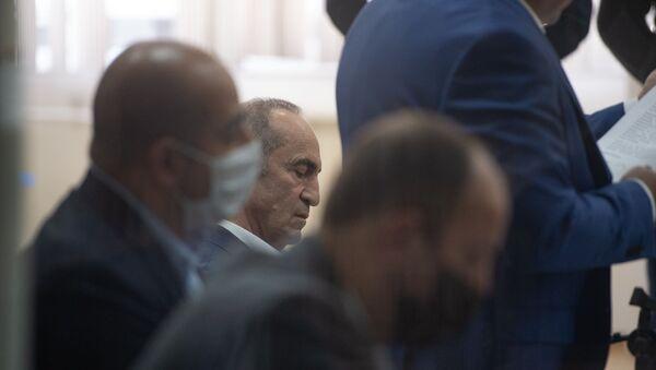 Роберт Кочарян на судебном заседании по делу 1 марта (8 мая 2020). Еревaн - Sputnik Армения