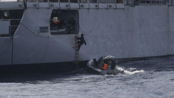 Морские учения в Гвинейском заливе в целях защиты от пиратов (20 марта 2019). - Sputnik Արմենիա