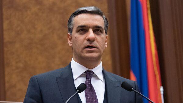 Выступление омбудсмена Армана Татояна на Международной конференции, посвященной 15-летию офиса омбудсмена в Армении (26 ноября 2019). Еревaн - Sputnik Արմենիա