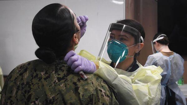 COVID-19 ударил по военной верхушке США: заболевание подозревают у командира Национальной гвардии - Sputnik Армения