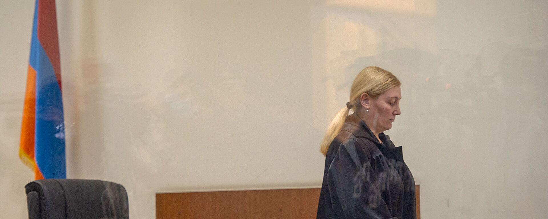 Судья Анна Данибекян на судебном заседании по делу 1 марта (13 мая 2020). Еревaн - Sputnik Արմենիա, 1920, 11.02.2021