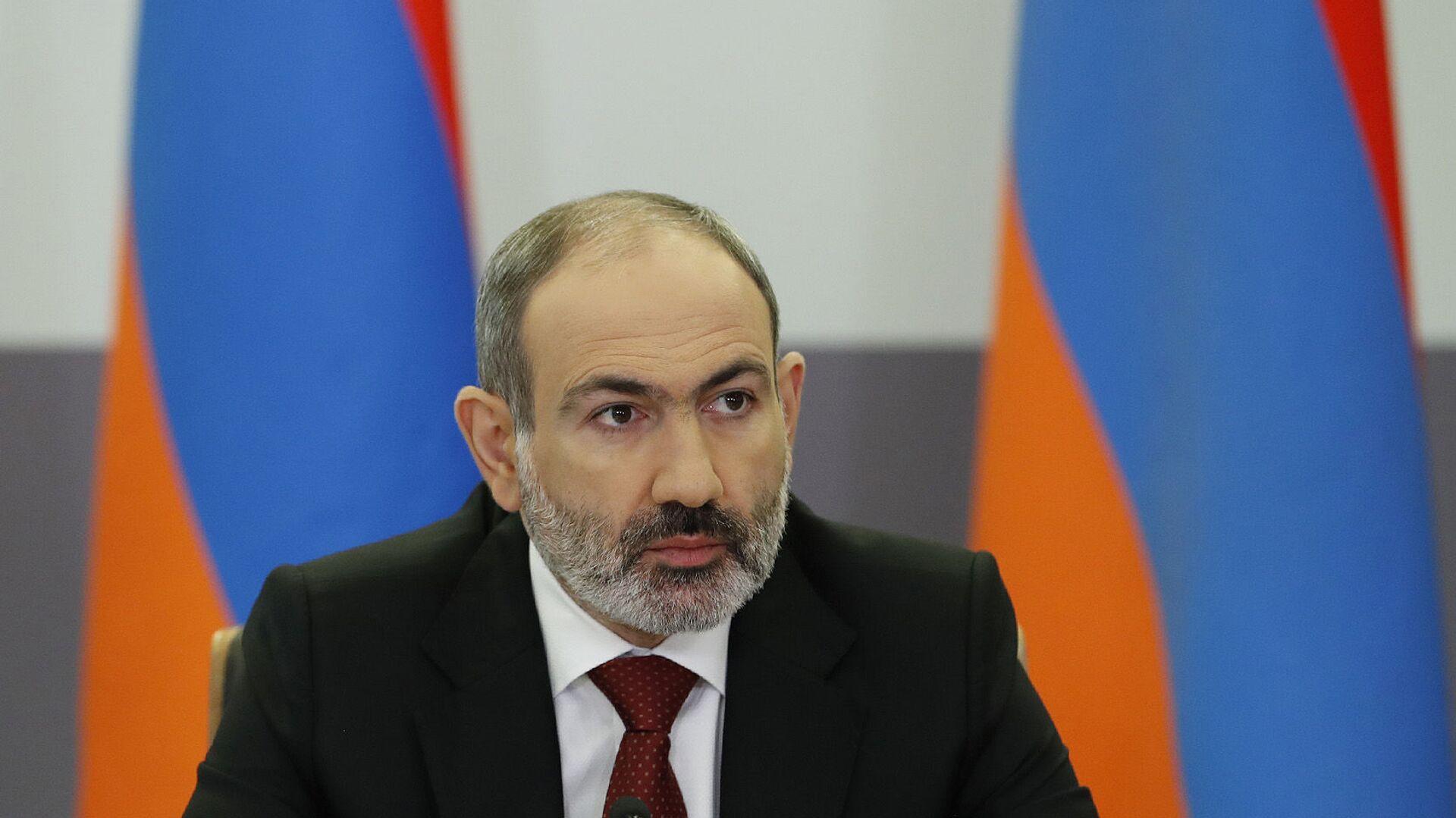 Премьер-министр Никол Пашинян - Sputnik Армения, 1920, 14.10.2021