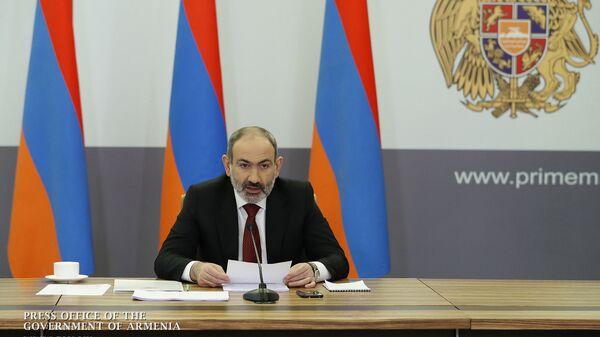 Онлайн пресс-конференция премьер-министра Никола Пашиняна (16 мая 2020). Еревaн - Sputnik Армения