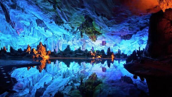 Пещера тростниковой флейты, Китай - Sputnik Армения