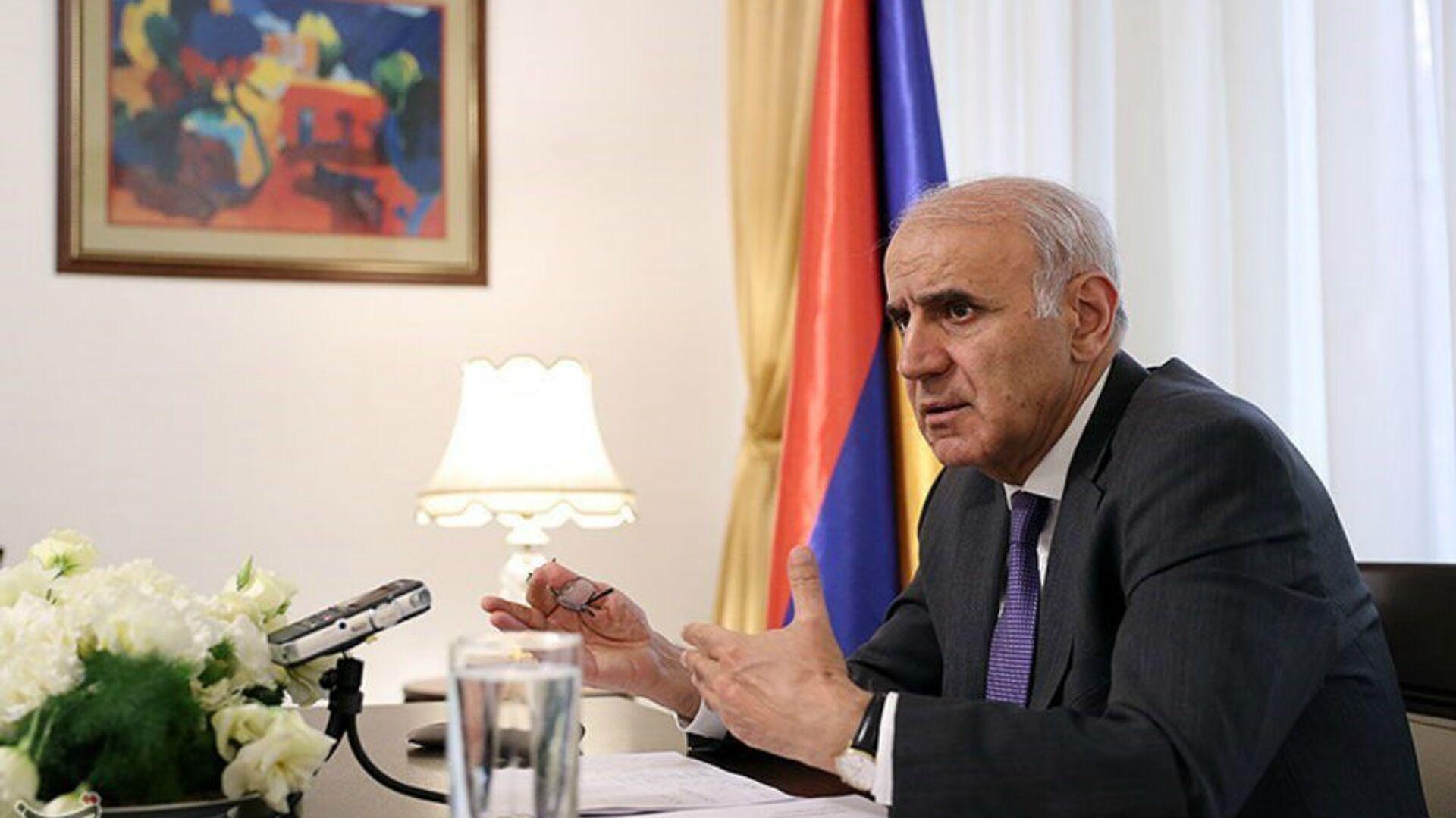 Чрезвычайный и полномочный посол Армении в Иране Арташес Туманян (2 декабря 2017). - Sputnik Армения, 1920, 13.05.2021