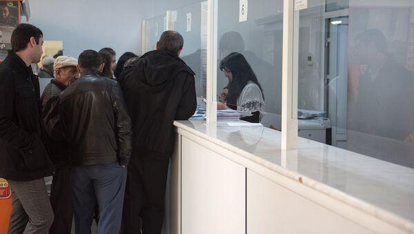 Паспортное отделение - Маштоц - Sputnik Армения