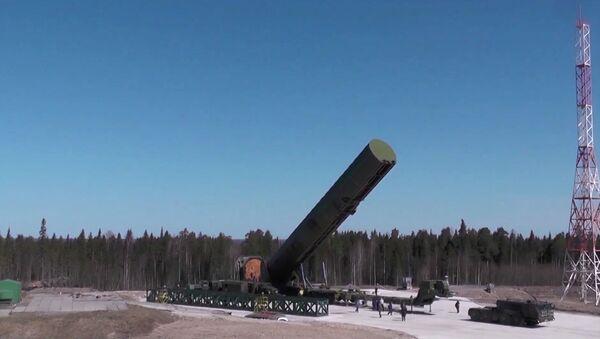 Испытание новой баллистической ракеты «Сармат» - Sputnik Армения