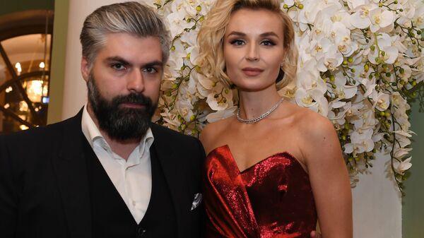 Певица Полина Гагарина с супругом Дмитрием Исхаковым - Sputnik Армения