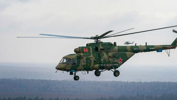 Многоцелевой вертолет Ми-8 - Sputnik Армения