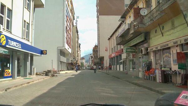 Армянский квартал в городе Хопа, Турция - Sputnik Армения