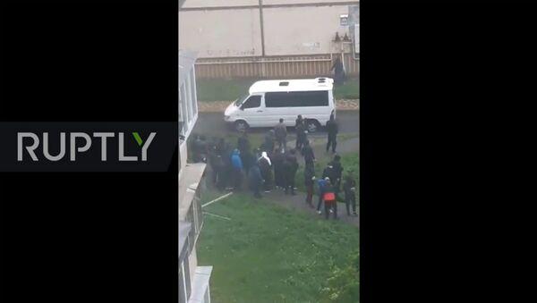 3 раненых в бандитской перестрелке под Киевом - Sputnik Армения