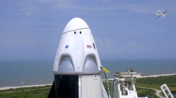 Корабль Crew Dragon, созданный компанией SpaceX Илона Маска - Sputnik Армения