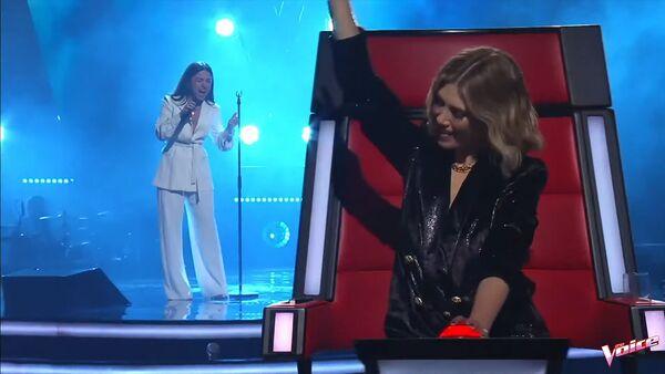 Кадр из австралийского телешоу The Voice с участием Маши Мнджоян - Sputnik Արմենիա