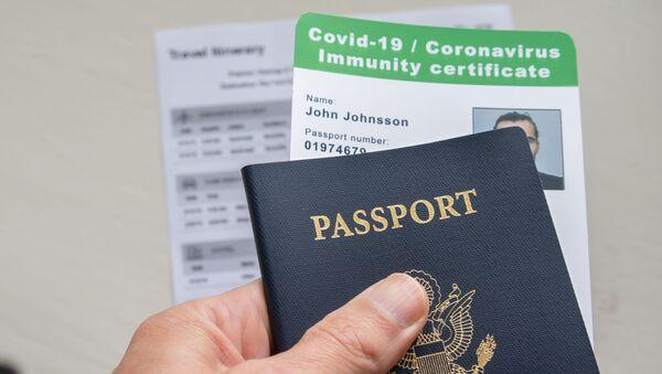 Covid-паспорт и протокол в скором времени станут необходимыми документами для путешествий - Sputnik Армения