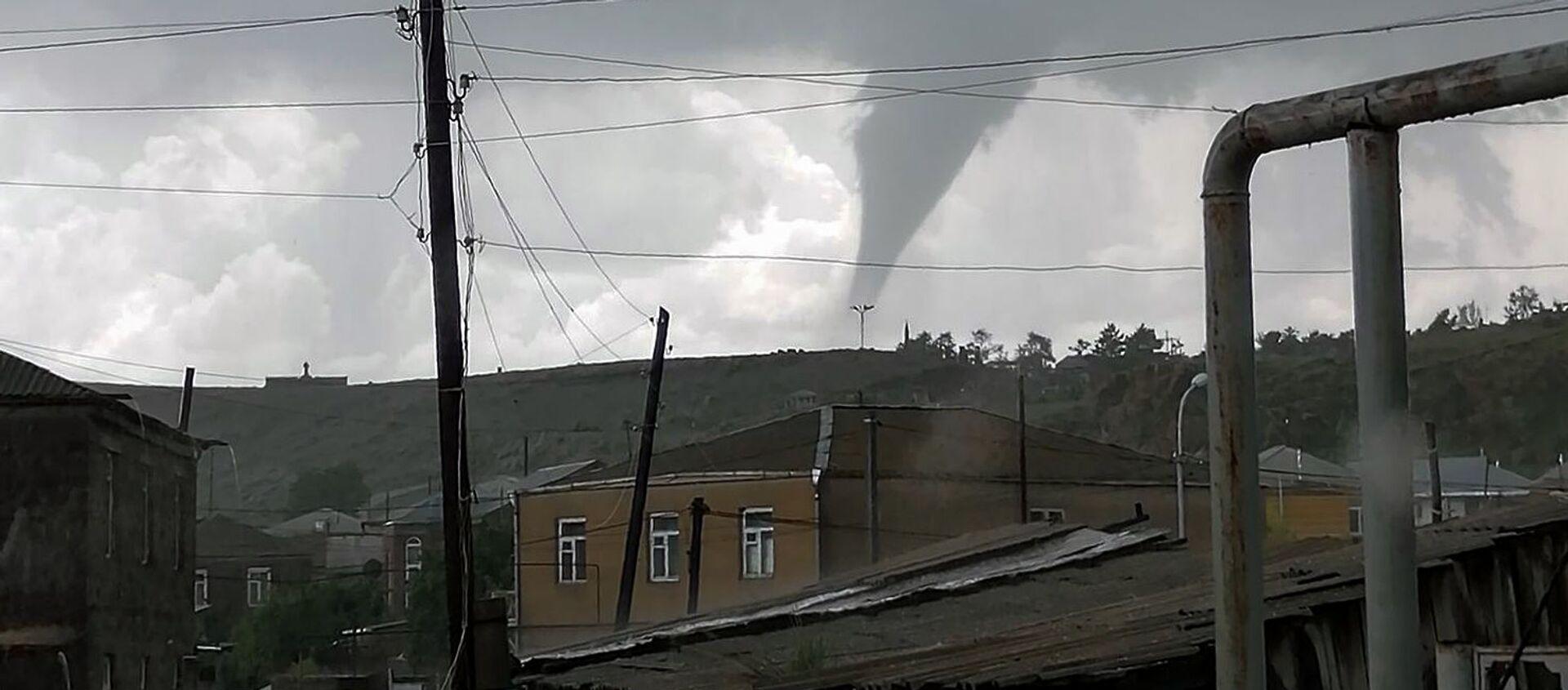 Торнадо в Гегаркунике (11 июня 2020). Гавар - Sputnik Армения, 1920, 20.06.2020