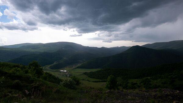 Грозовая погода в Котайке - Sputnik Армения