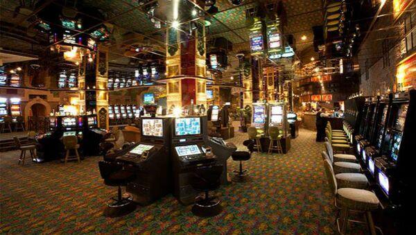 Один из игровых залов казино Шангри Ла - Sputnik Армения