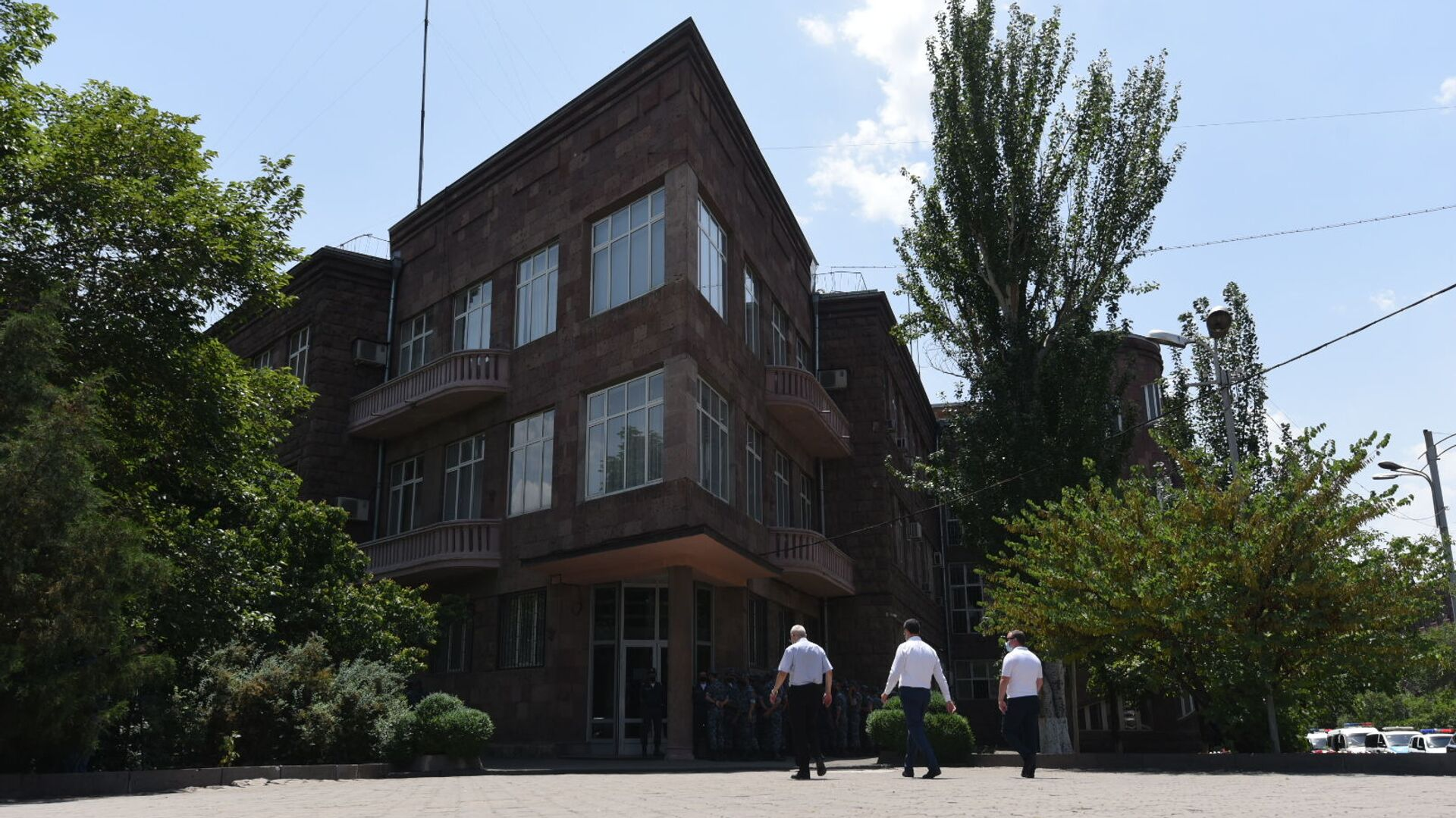 Здание СНБ  - Sputnik Армения, 1920, 19.09.2021