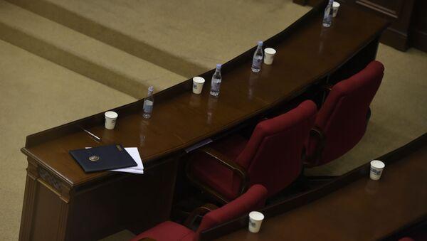 Зал Парламента во время перерыва (16 июня 2020). Еревaн - Sputnik Արմենիա