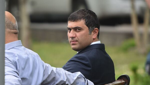 Депутат Парламента Давид Манукян - Sputnik Армения