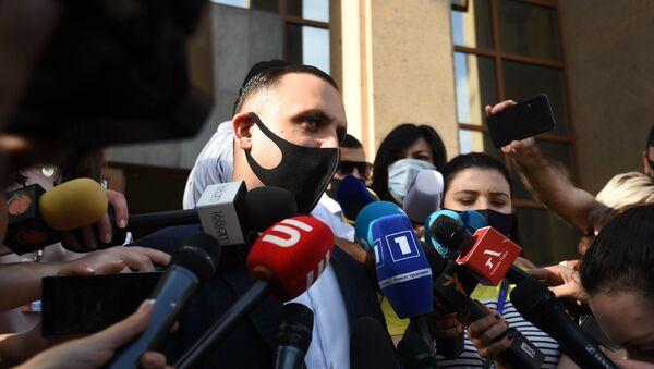 Адвокат Гагика Царукяна Ерем Саркисян (18 июня 2020). Еревaн - Sputnik Армения