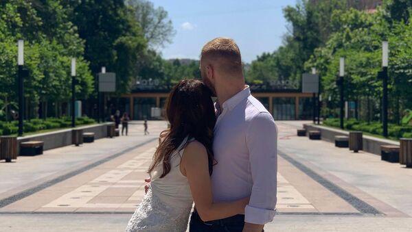 Свадьба Соны и Тиграна во время пандемии коронавируса - Sputnik Արմենիա