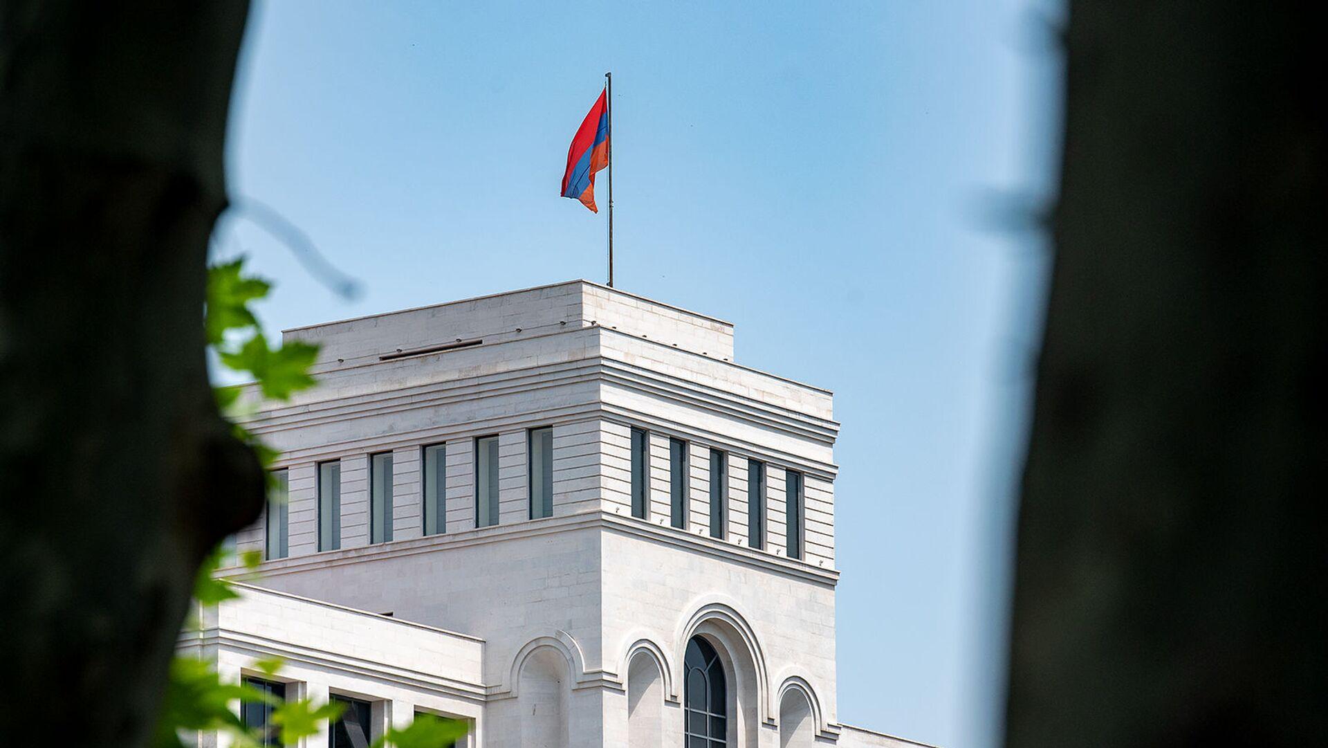 Здание Министерства иностранных дел Армении - Sputnik Армения, 1920, 27.09.2021