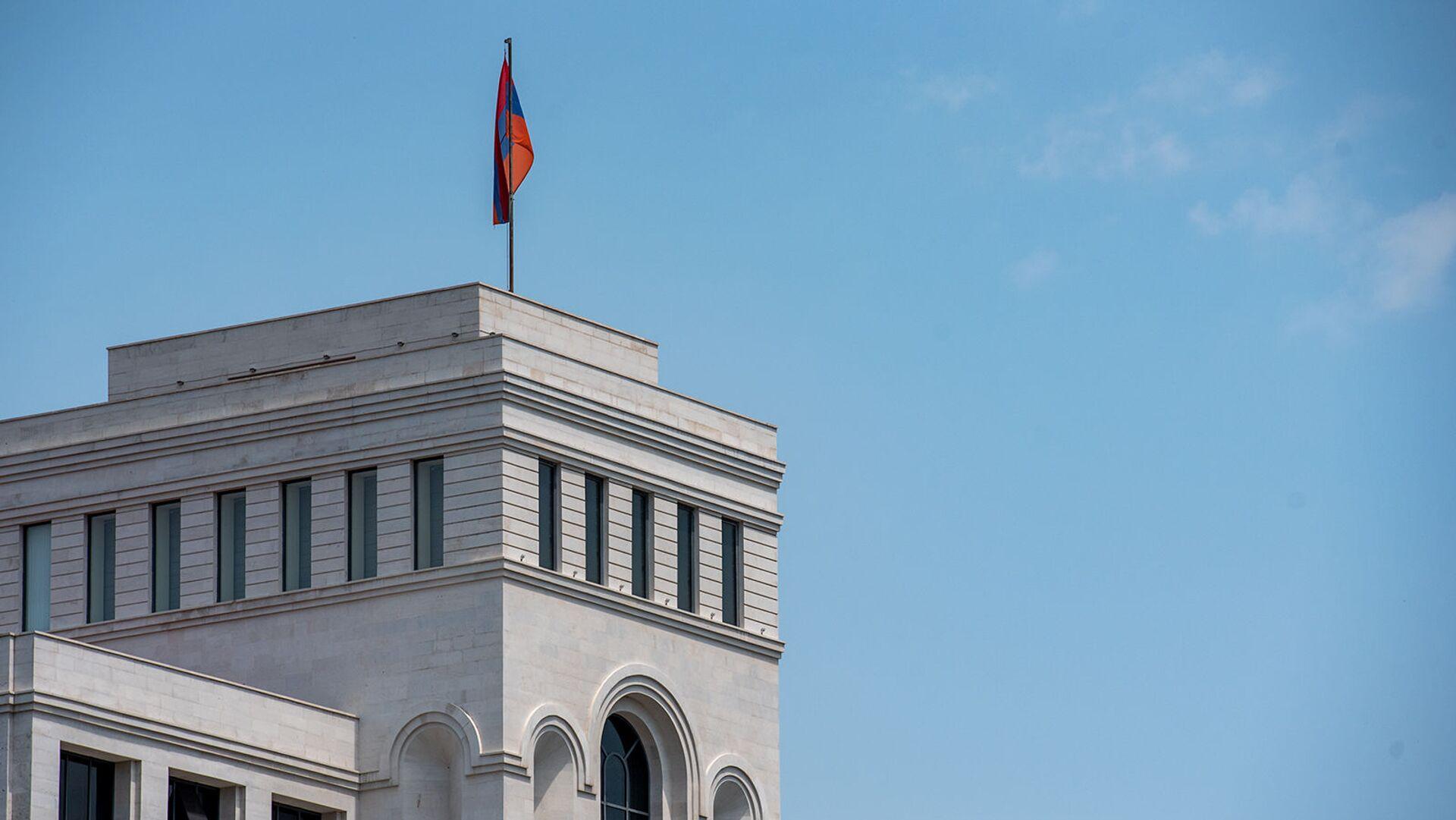 Здание Министерства иностранных дел Армении - Sputnik Армения, 1920, 14.10.2021