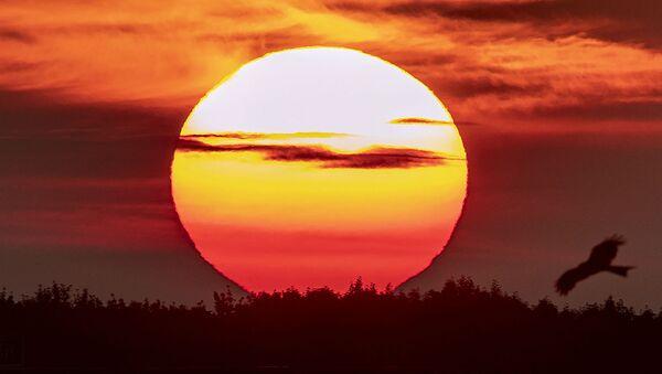 Восход солнца в день летнего солнцестояния (21 июня 2019). Франкфурт, Германия - Sputnik Армения