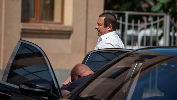 Гагик Царукян прибыл на судебное заседание (21 июня 2020). Еревaн - Sputnik Армения