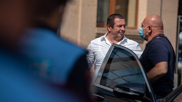 Гагик Царукян прибыл на судебное заседание (21 июня 2020). Еревaн - Sputnik Արմենիա