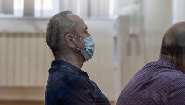 Роберт Кочарян на судебном заседании по делу 1 марта (23 июня 2020). Еревaн - Sputnik Արմենիա