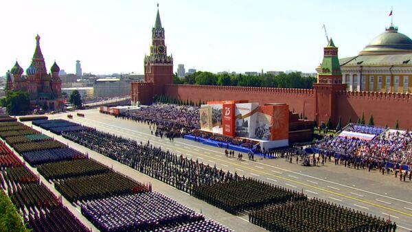 Перед началом парада Победы - Sputnik Արմենիա