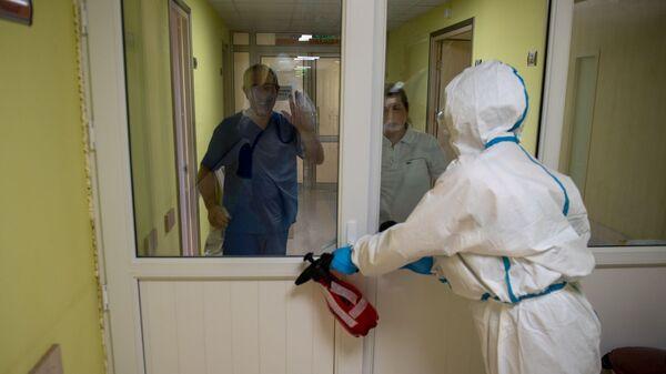 Արտաշատի բժշկական կենտրոնում - Sputnik Արմենիա