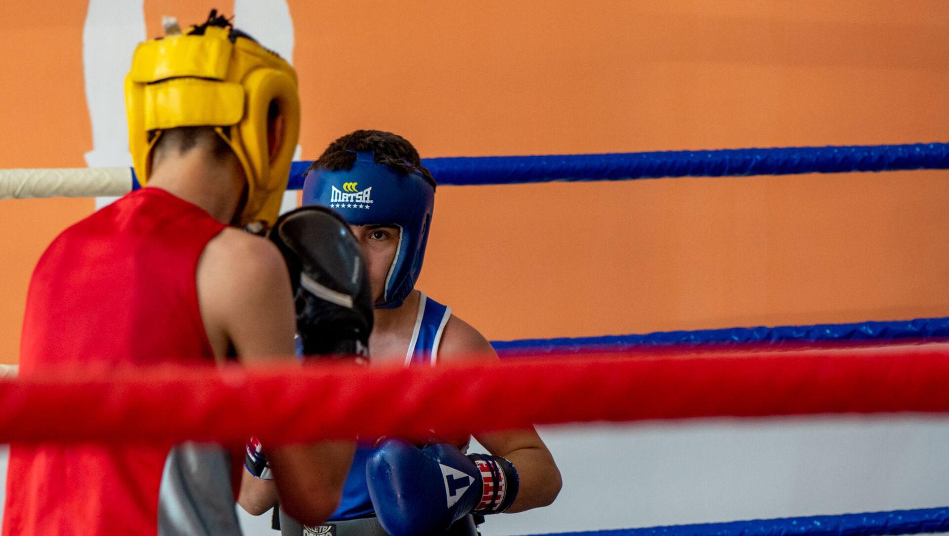 Школа бокса 12 rounds - Sputnik Армения, 1920, 22.06.2021