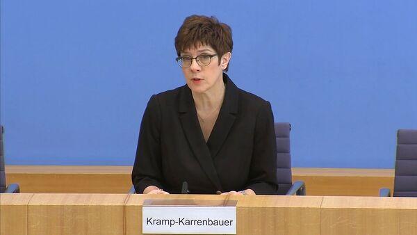 """""""Российская угроза"""": на что пойдет министр обороны Германии ради собственных целей - Sputnik Армения"""