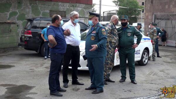 «Ձյունիկ սառնարան» ՍՊԸ-ի շենքում բռնկված հրդեհը մարվել է - Sputnik Արմենիա