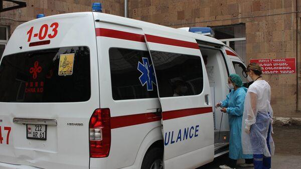 Два медицинских центра Араратской области полностью заняты борьбой с коронавирусом (1 июля 2020). - Sputnik Արմենիա