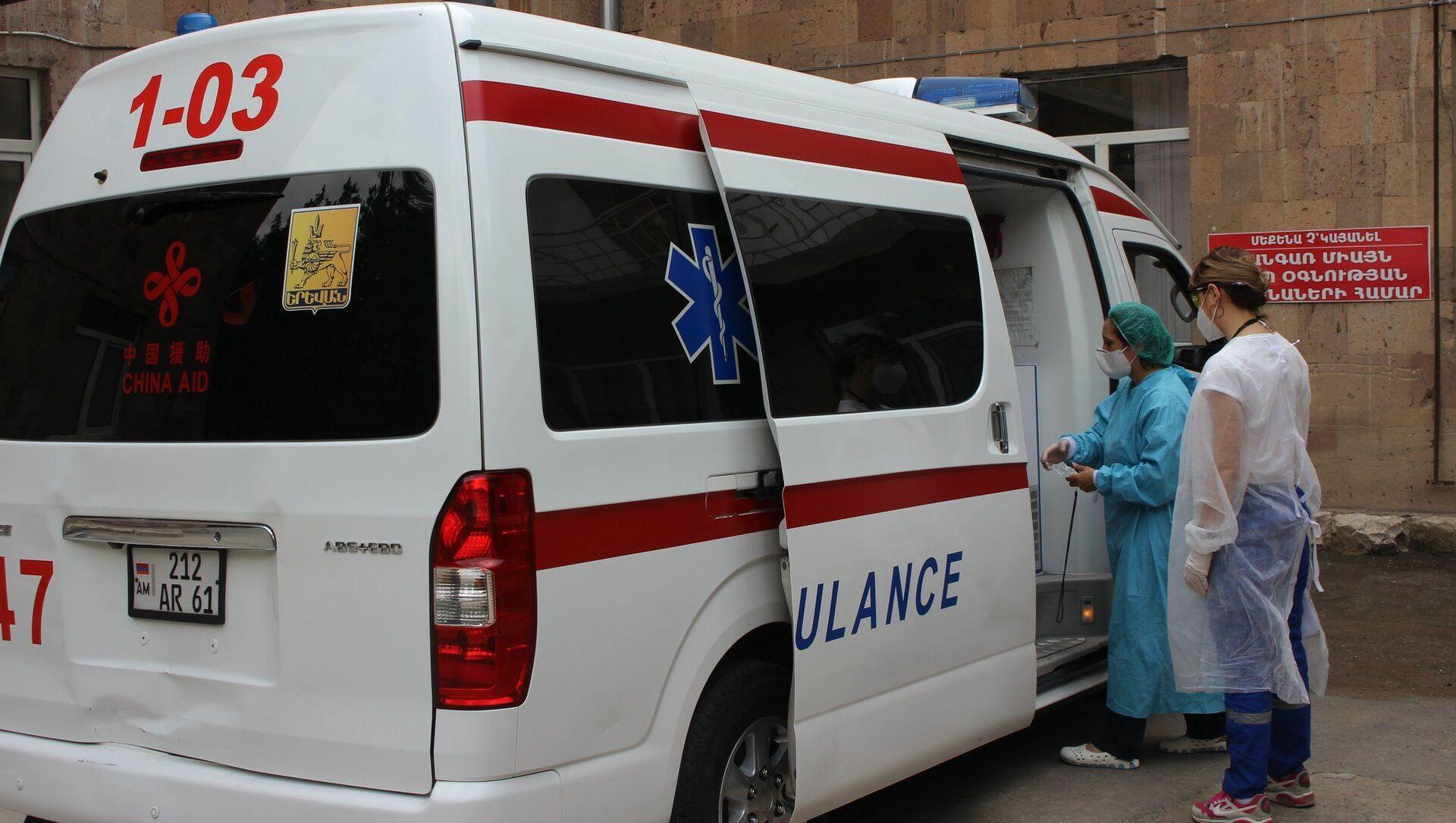 Два медицинских центра Араратской области полностью заняты борьбой с коронавирусом (1 июля 2020). - Sputnik Արմենիա, 1920, 15.07.2021