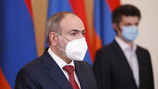Премьер-министр Никол Пашинян на онлайн брифинге (1 июля 2020). Еревaн - Sputnik Արմենիա