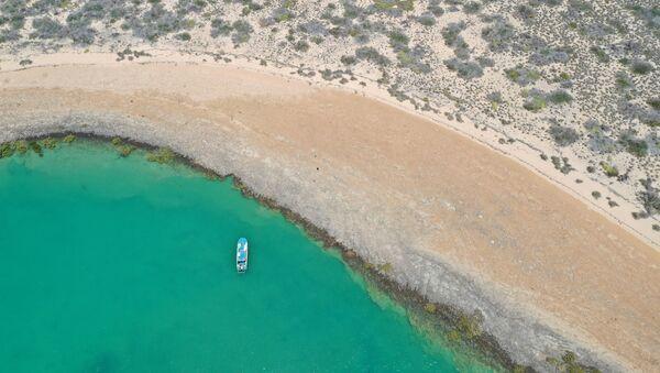 Общий вид области, где нашли подводные артефакты, датируемые тысячелетиями, когда морское дно было сушей, Австралия - Sputnik Արմենիա