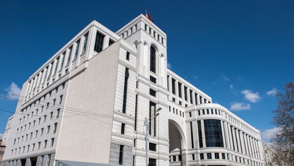 Здание министерств Армении - Sputnik Армения