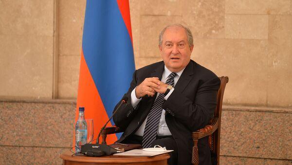 Президент Армен Саркисян встретился с представителями ИТ-компаний Армении (3 июля 2020). Еревaн - Sputnik Արմենիա