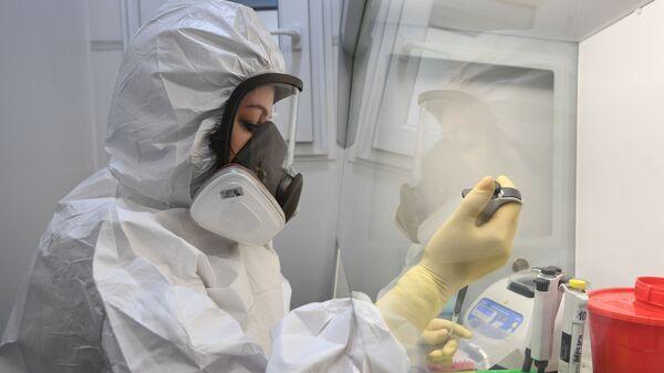 Лаборатория для тестирования на коронавирус  - Sputnik Армения