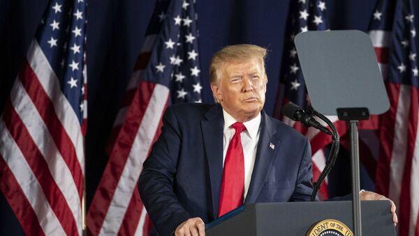 Выступление президента Дональда Трампа на праздновании Дня независимости в Национальном мемориале на горе Рашмор (3 июля 2020). Кейстоун, Южная Дакота - Sputnik Армения