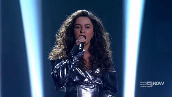 Кадр из телешоу The Voice Australia с участием Маши Мнджоян - Sputnik Արմենիա