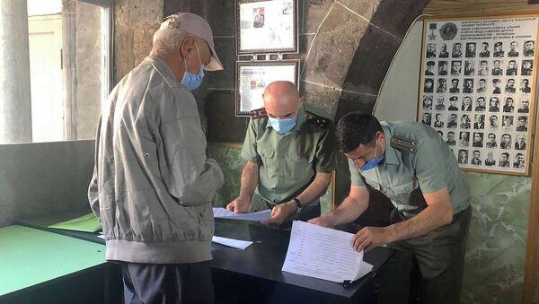 Союза ветеранов Армении вручает медали и денежные награды ветеранам ВОВ в Гюмри - Sputnik Армения